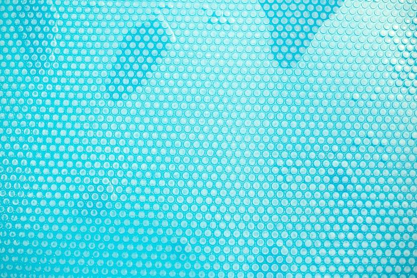 Detail solární plachty