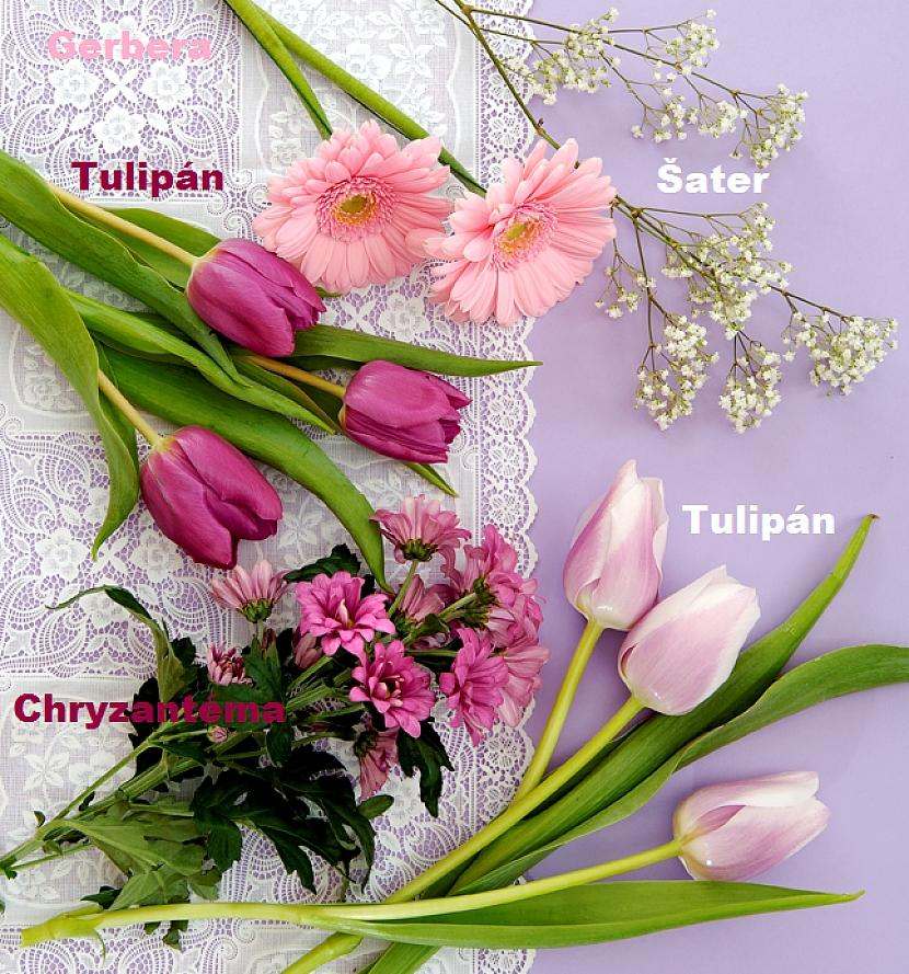 Romantická květnová kytice 2