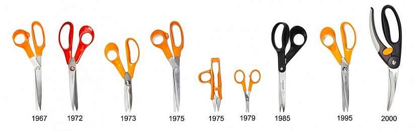 Zajímavosti z vývoje nůžek Fiskars