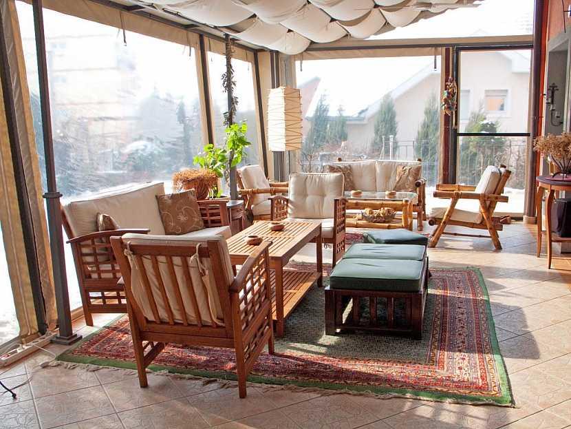 Zasklený balkon je možno rovněž považovat za bezpečnostní prvek
