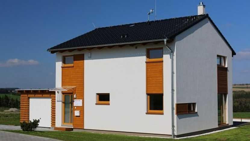 Modelový dům Kubis 74 s elektrickým vytápěním, postavený dle podmínek NZEB po roce 2020