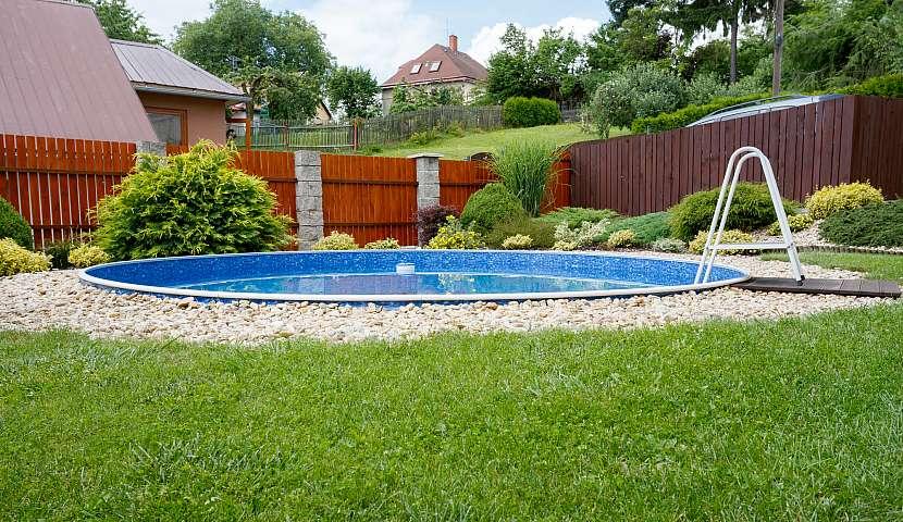 Bazén je součástí aktivní odpočinkové zóny