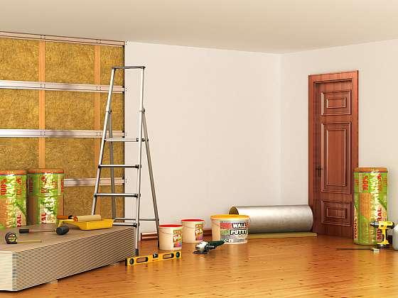 Zvuková a tepelná izolace instalovaná na stěny, podlahu i strop (Zdroj: Depositphotos (https://cz.depositphotos.com))