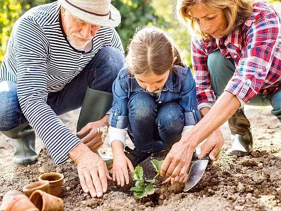 Zapojte děti do prací na zahradě (Zdroj: HORNBACH BAUMARKT CS spol. s.r.o.)