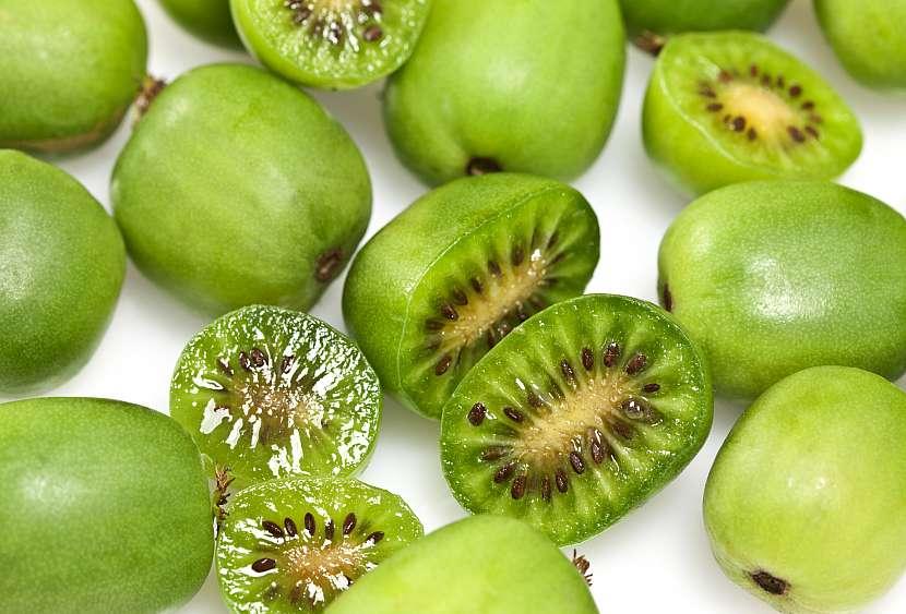 Oloupané kiwi