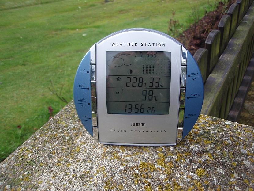 Domácí meteorologická stanice