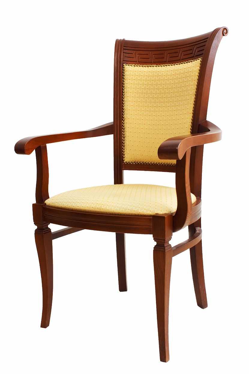 Vyřezávaná židle