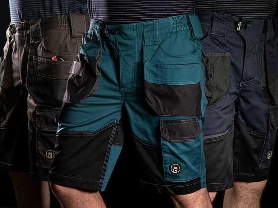 Šortky DAYBORO. Ideální pracovní oděv do horkých letních dnů (Zdroj: CERVA GROUP)