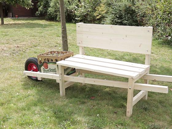 Vyrobte si praktickou pivní lavičku (Zdroj: Prima DOMA)