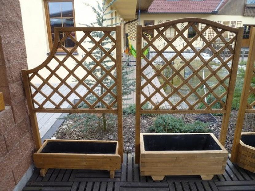 mříže na pěstování rostlin