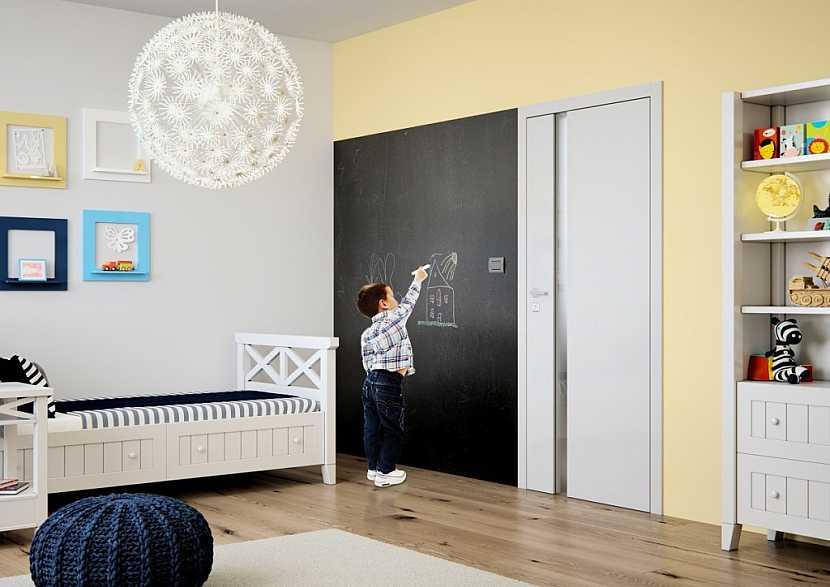 Dveře do dětského pokoje od SAPELI