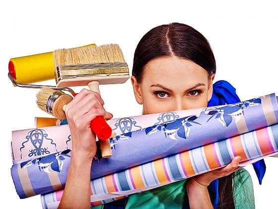 Poradíme vám, jak snadno odstranit staré tapety (Zdroj: Depositphotos)