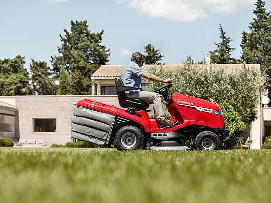 Co by měly umět sekačky na trávu a zahradní traktory? (Zdroj: Honda)