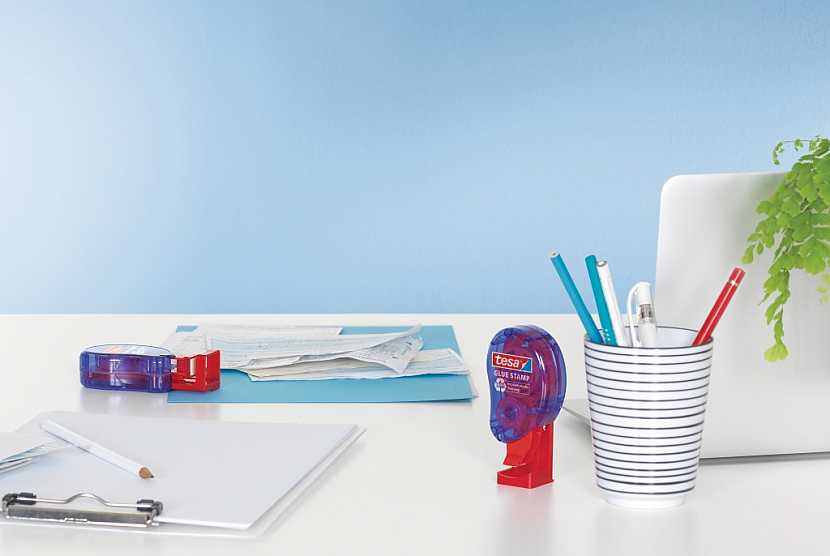 Lepící razítko tesa – rychle, čistě, efektivně