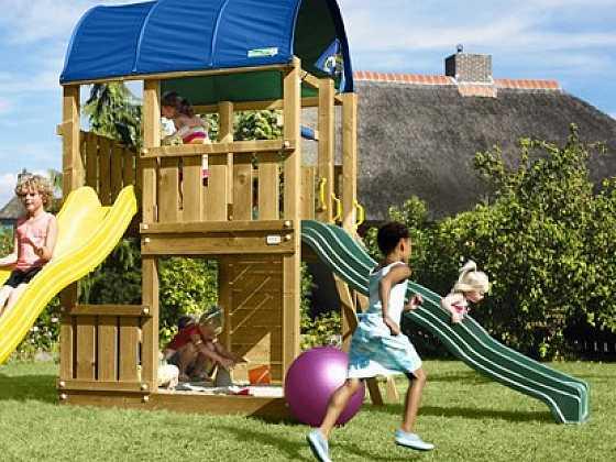 Dřevěná hřiště pro radost a dobrou kondici dětí