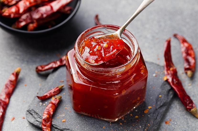 Pikantní džem z chilli papriček je bomba