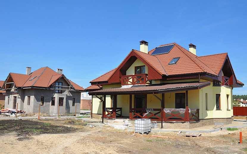 Střecha nad vchodem