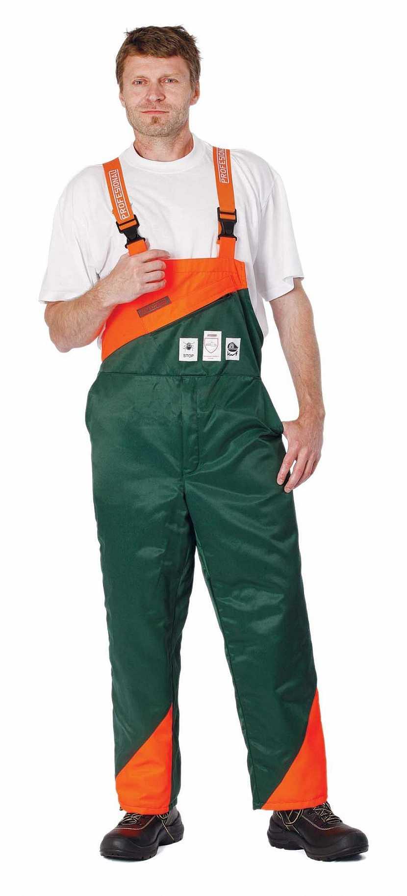 protipořezové kalhoty