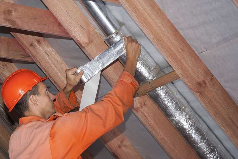 Do ventilačního systému lze napojit i vývody třeba z digestoře v kuchyni