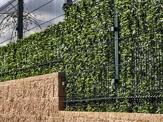 Lehký plot, který ochrání soukromí