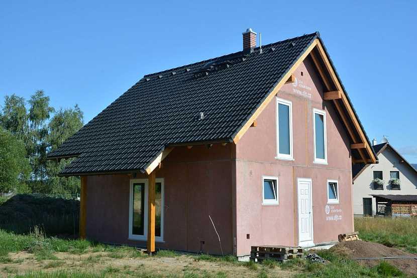 stavba domu z betonu