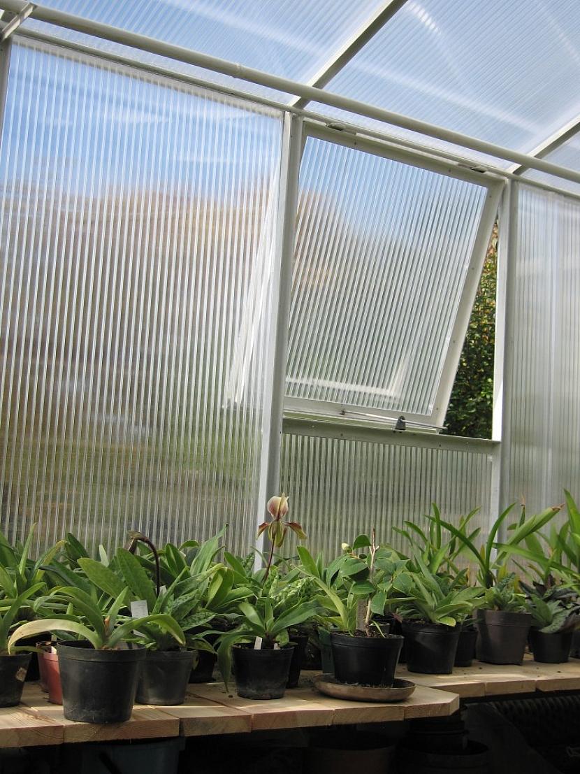 8. Ventilace skleníku