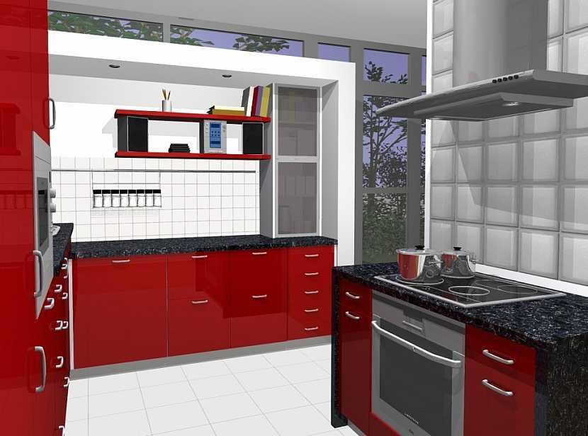 Výhody navržené kuchyně