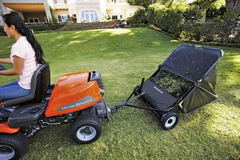 Vyberte si systém sečení podle potřeb vaší zahrady
