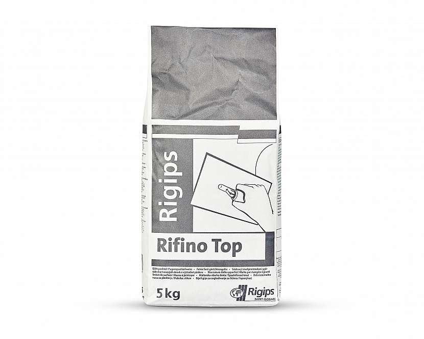 S použitím tmelu Rifino Top se nemusíme omezovat