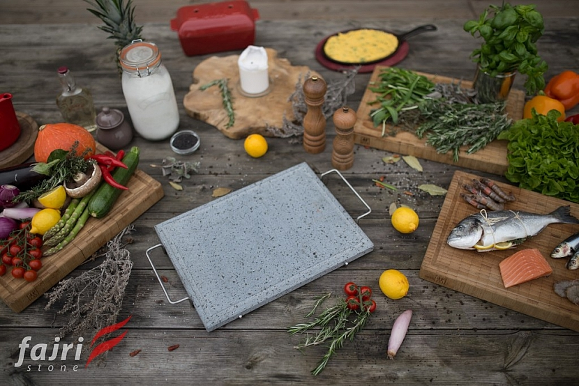 Grilujte jako šéfkuchař: lávový kámen je moderní a zdravý způsob