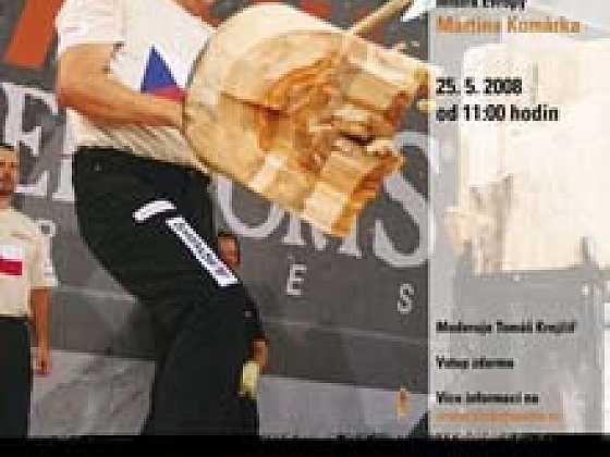 Pozvánka -  Mistrovství ČR v dřevorubeckém sportu STIHL Timbersports