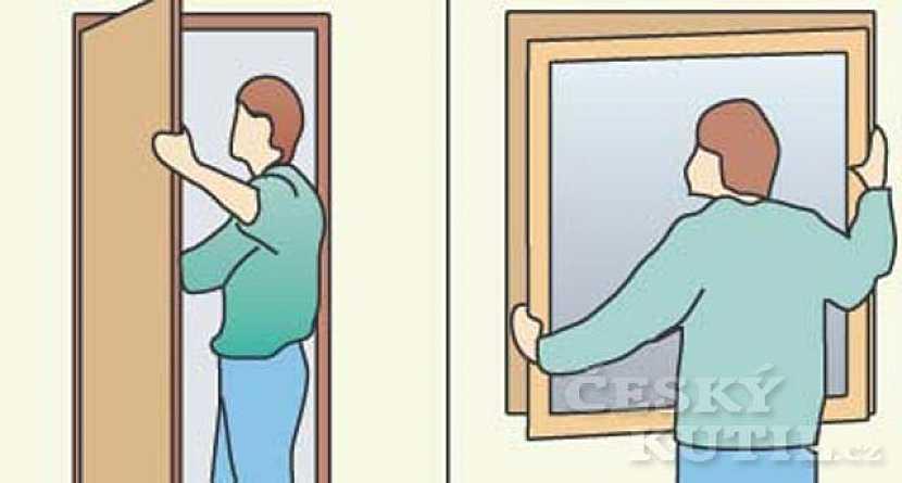 Okna i dveře vysadíme