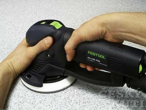 Představujeme excentrickou brusku ROTEX RO 150