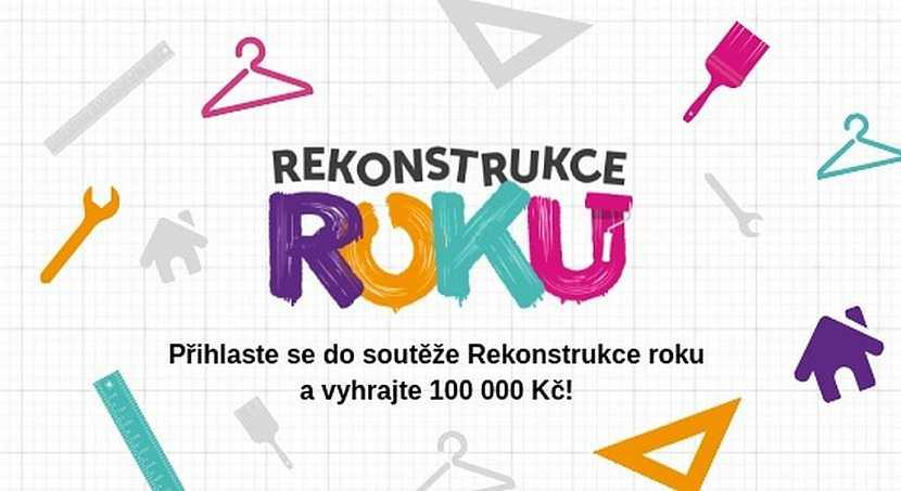 V soutěži Rekonstrukce roku máte možnost vyhrát 100 000 Kč