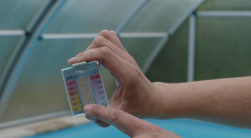 Měření pH vody