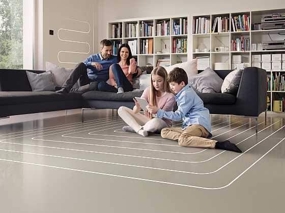 Sedm důvodů pro volbu podlahového vytápění (Zdroj: Rehau)