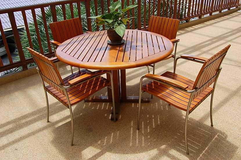 Zahradní nábytek s dlouhou životností