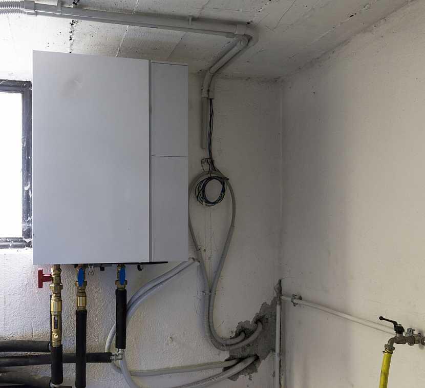 Tepelné čerpadlo voda vzduch je možné namontovat do původní kotelny nebo na chodbu