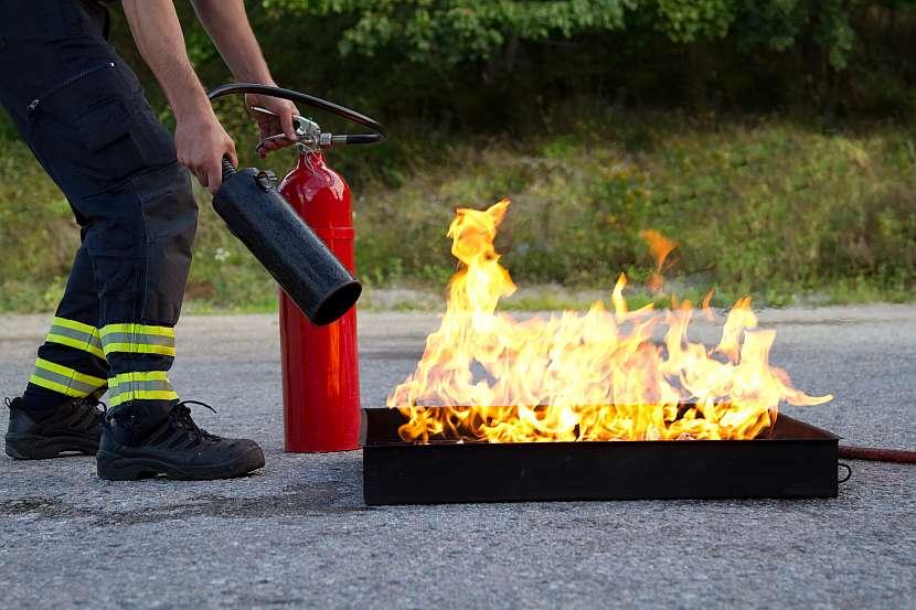 Hašení ohně