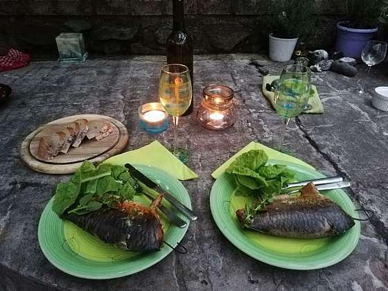 Ryby uzené teplým kouřem se hodí k přímé konzumaci (Zdroj: Běla Nedorostová)