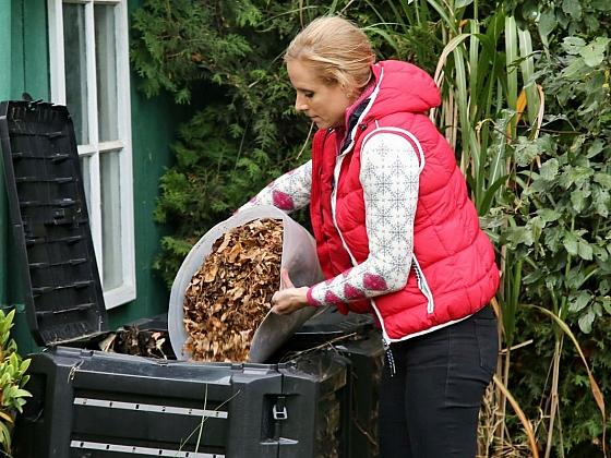 Podzimní úklid zahrady (Zdroj: archiv FTV Prima)