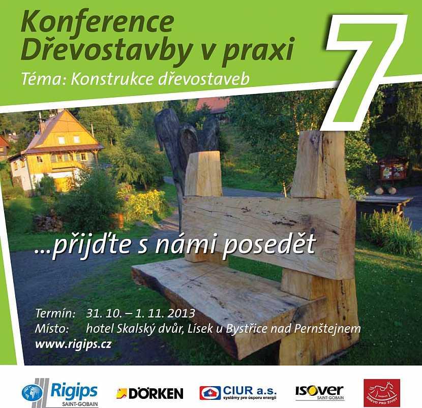 Pozvánka na konferenci Dřevostavby v praxi 7