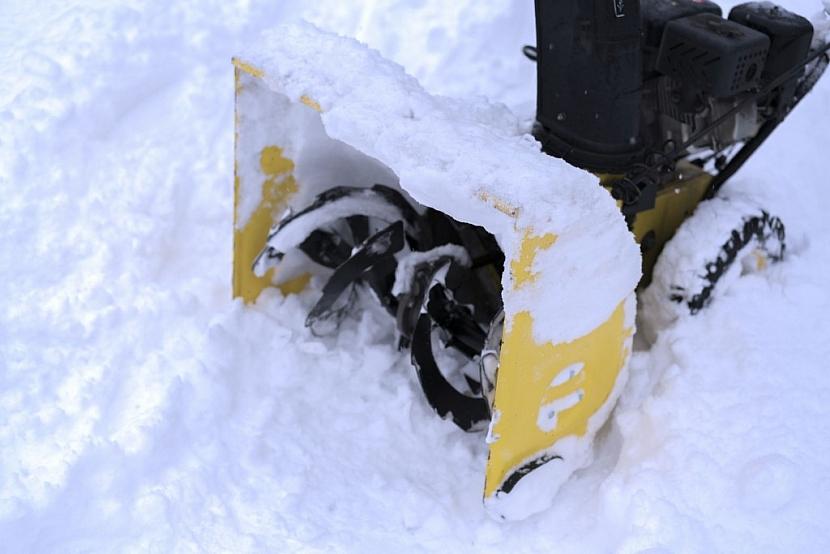 Sněhovou frézu využijí především obyvatelé vyšších poloh, kde více sněží