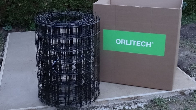 Kompozitní síť z čedičových vláken (Orlitech Mesh) je třikrát lehčí a čtyřikrát pevnější, než srovnatelný kovový materiál