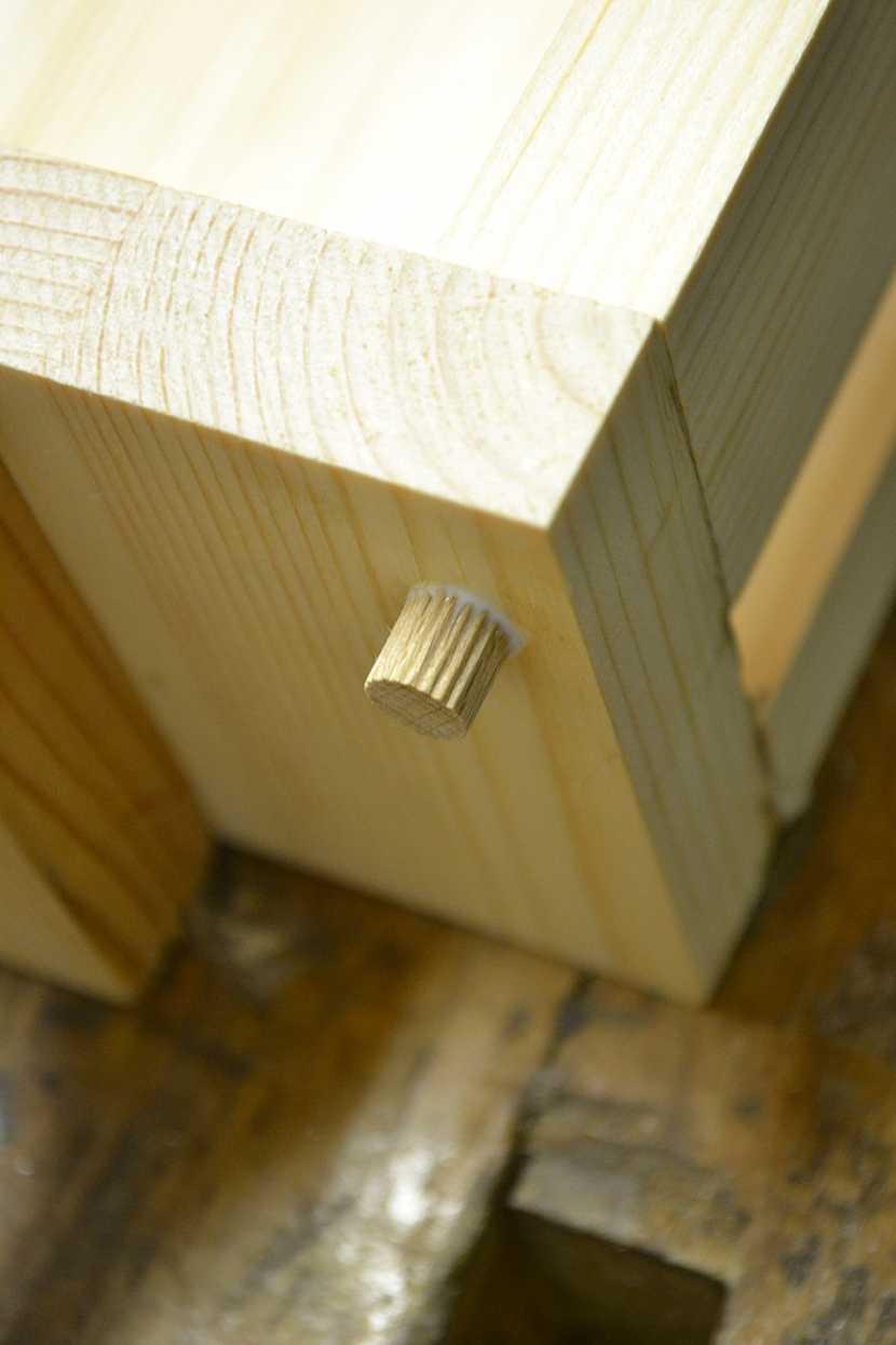 Dřevěný vrut