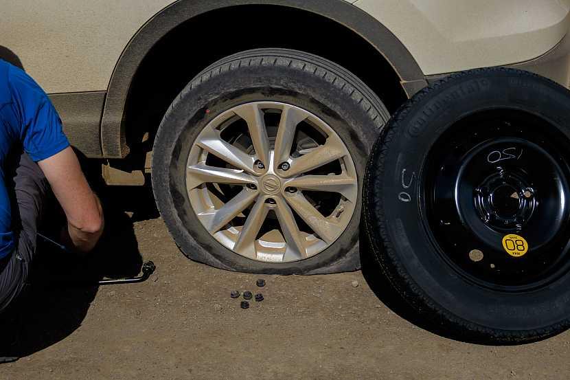Prázdná pneu