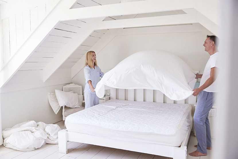 Je důležité věnovat velkou pozornost čistotě postele, zvláště matracím