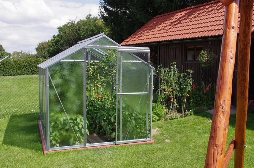 Hliníkové skleníky
