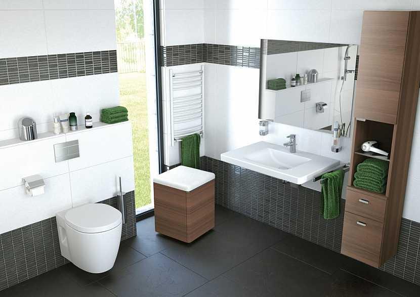 Komfortní koupelna pro každého