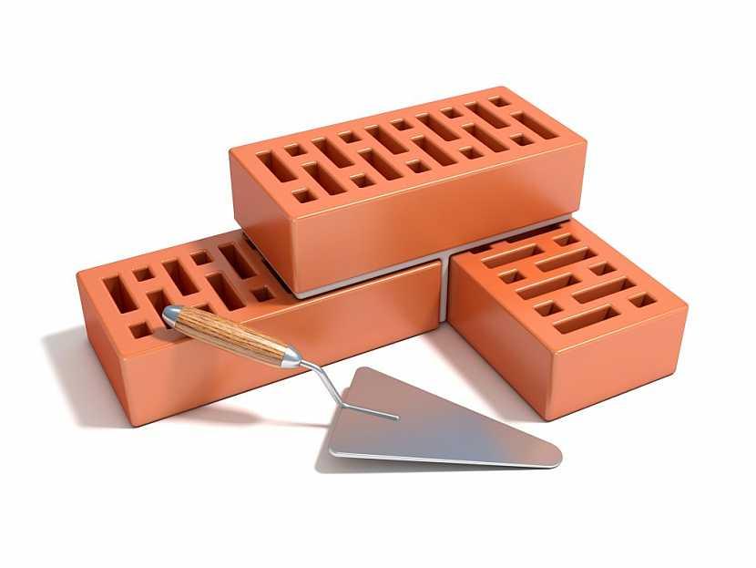 Tvarované duté cihly jsou praktičtější, práce s nimi je jednodušší